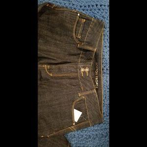 21957ed05ca Boston Proper bootcut jeans dark wash sz 14